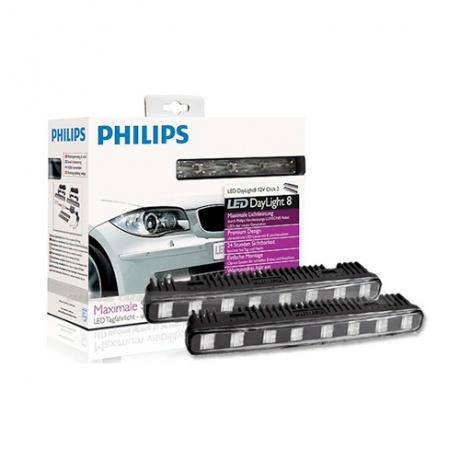 PHILIPS 飛利浦 LED晝行燈 8燈 Daytime Running Lights